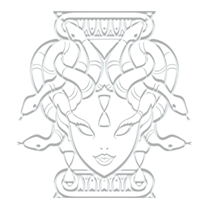 Krono-Gorgone Titan Chronos Méduse  Logo